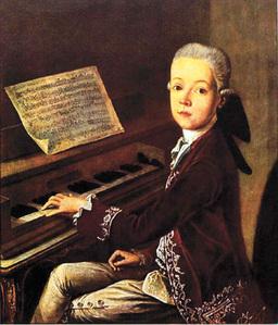 Mozart, hello we meet again.