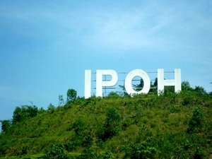 The IPOH sign.