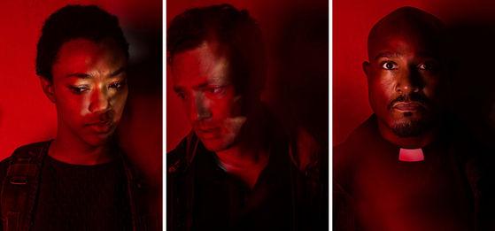 Sonequa Martin-Green as Sasha / Ross Marquand as Aaron / Seth Gilliam as Gabriel