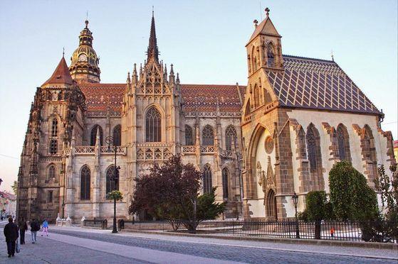 St. Elizabeth Cathedral.