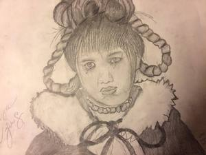 Cindy Lou Who Drawing, wallpaper