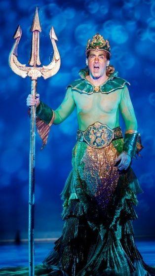 Steve Blanchard as King Triton