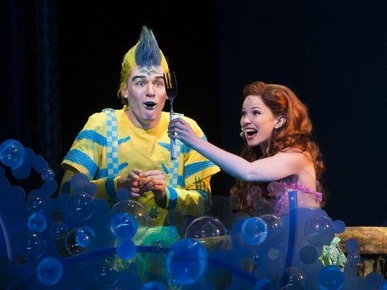 Connor Russell as Flounder