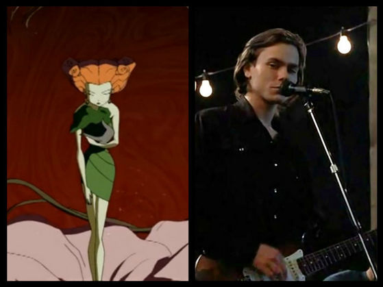 Poison Ivy and River Phoenix