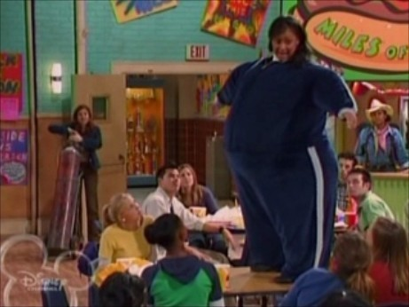 Raven: You can eat junk food once in a while, but if you eat it all the time, it can make you seriously sick.