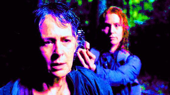 Melissa McBride & Alicia Witt as Carol & Paula ~ The Same Boat, 6x13