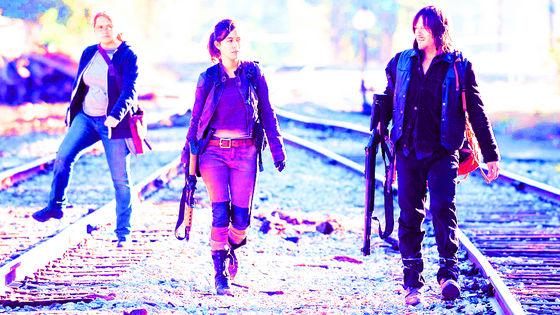 Denise, Rosita & Daryl, 6x14, Twice as Far