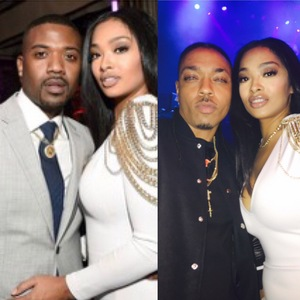 EXCLUSIVE PHOTO! کرن, رے J & PRINCESS IN TROUBLE! She's Turning The Tables On کرن, رے J for Hottie Playboy KISSK & Newest Love & Hip Hop: Hollywood Cast Member