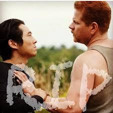 we will always remember them the 2 awesomemen who negan killed