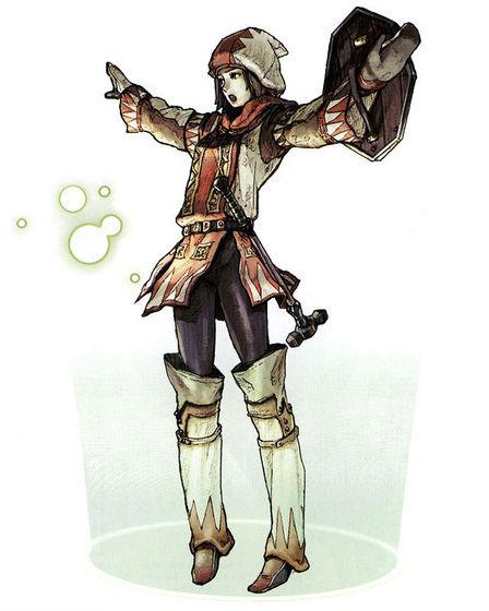 Octavia in field gear
