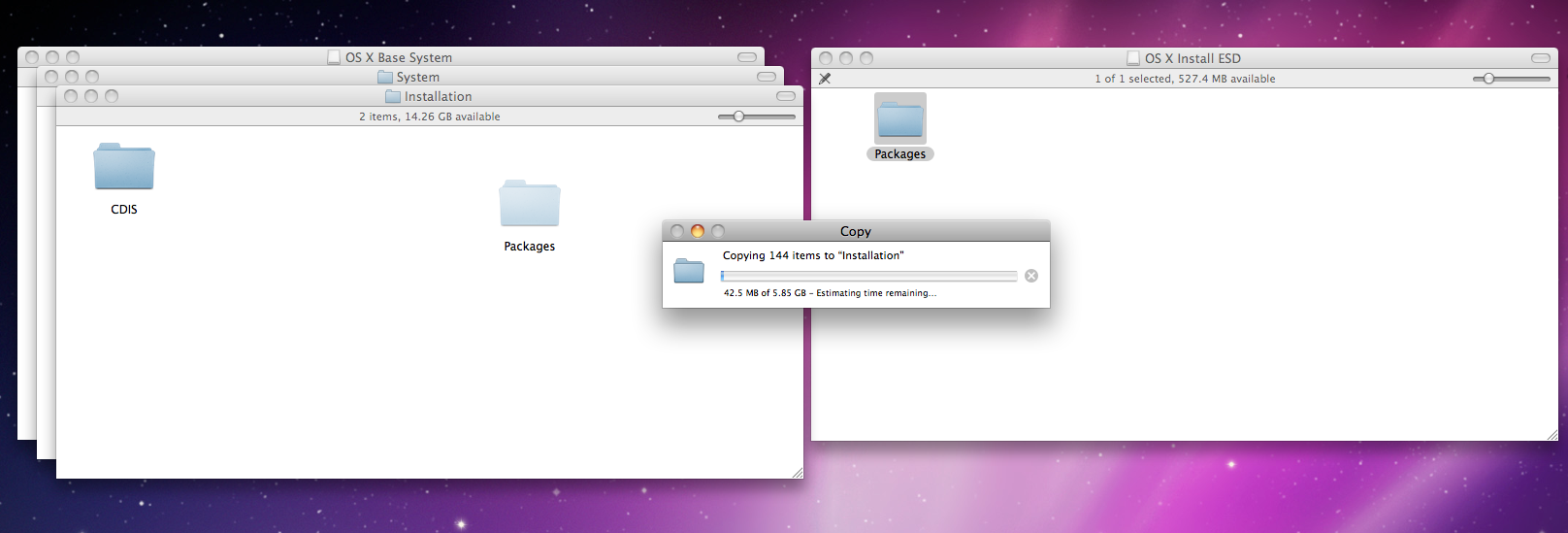 Make a bootable El Capitan drive from Snow Leopard - Apple