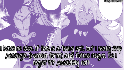 Anonymous (Not The Author's Opinions!) Fairy Tail Confessions