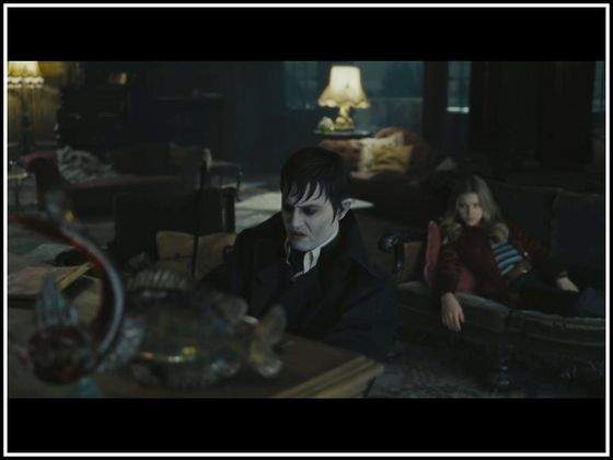 Dark Shadows starring Johnny Depp, Michelle Pfieffer