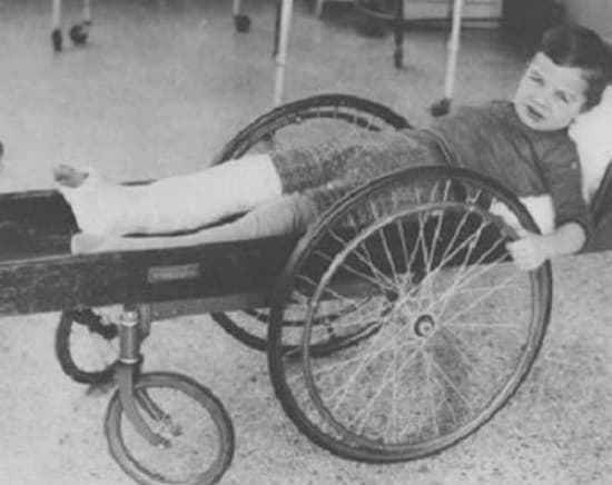 6) Wheel Chair of early 19th century