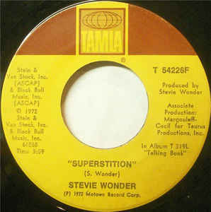 Superstition On 45 RPM