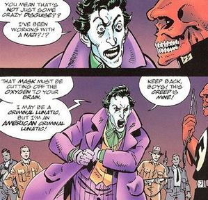 Even the Joker's Had Enough Of This Bullshit