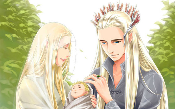 legolas brings joy to their lives.... but the joy was short lived