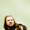Amber as Ned Stark