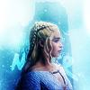 Inès as Daenerys Targaryen