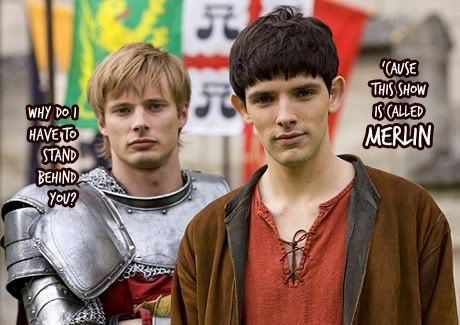 Merlin (Merthur?) On BBC