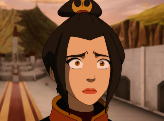 The reaction of Azula after pagbaba this crackfic