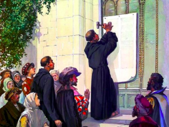 The Proclamation Of The Reformation In 1517
