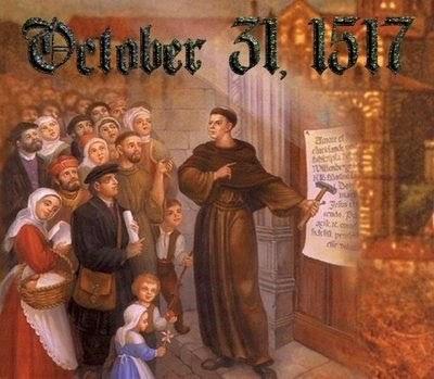 October 31,1517-A Truly Historical día