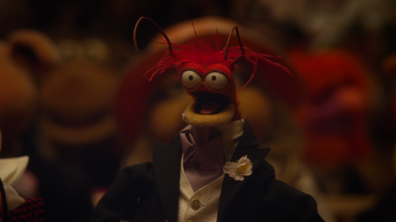 Pepe the King Prawn is back and this time he plays a larger role as opposed to his smaller role in the previous movie. Also Spamela Hamderson and Mahna Mahna background cameo!