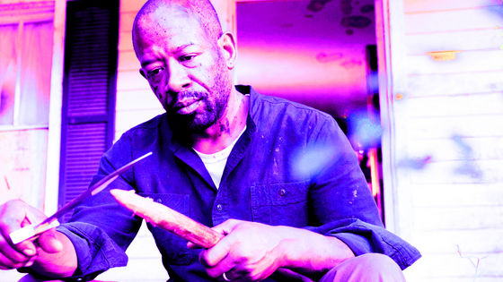Lennie James as Morgan, Bury Me Here, 7x13