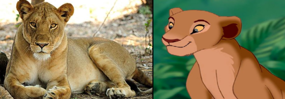 Nala from The Lion King