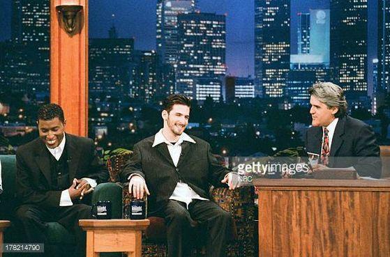 Babyface And Jon B. On The Tonight Show