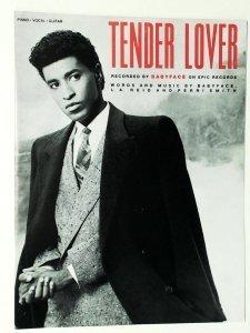 Sheet Music To Tender Lover