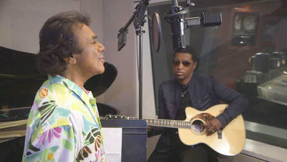 In The Recording Studio With Johnny Mathis