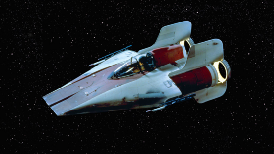 The A-Wing. First introduced in Return Of The Jedi in 1983. This ファン fiction is dedicated to this machine, and the pilots who flew it.