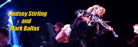 Lindsey Stirling and Mark Ballas - Dancing With The Stars Season 25 Banner #1
