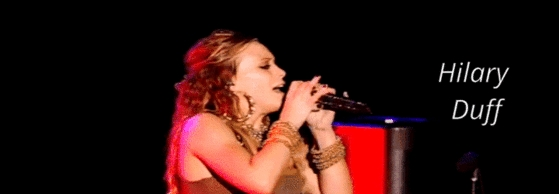 Hilary Duff - Live At Gibson Amphitheatre: August 15th, 2007 Banner