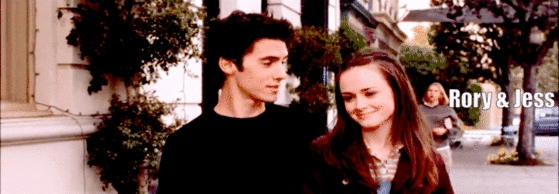 Gilmore Girls - Jess and Rory Banner