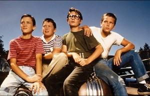 Gordie, Vern, Teddy and Chris