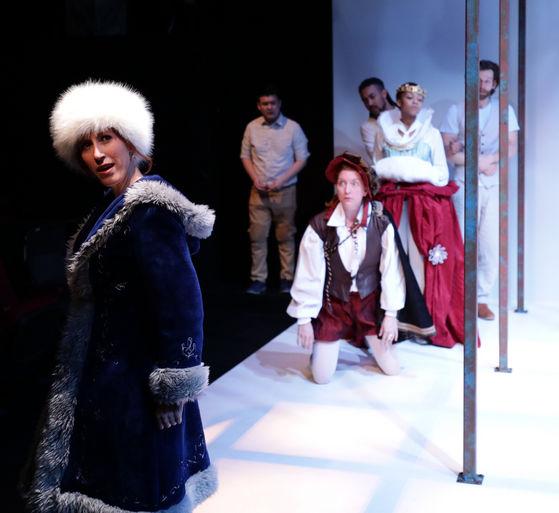 "Elise Arsenault in ""Virginia Woolf's Orlando"""