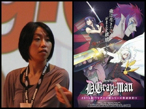 Katsura Hoshino the creator of D.Gray-Man.