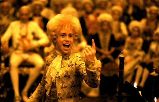 Dearest Mozart, what's wrong with your wig?