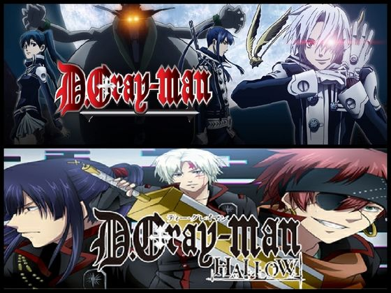 D.Gray-Man and Hallow.