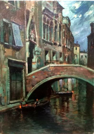Dipinto di Felice Giordano del 1934