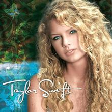 """Taylor Swift"" album cover"