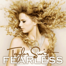 """""""Fearless"""" album cover"""