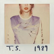 """""""1989"""" album cover"""