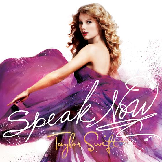 """""""Speak Now"""" album cover"""
