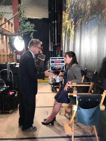 """""""Madam Secretary"""" - on set"""