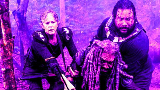 Carol, Ezekiel & Jerry, 8x04, Some Guy