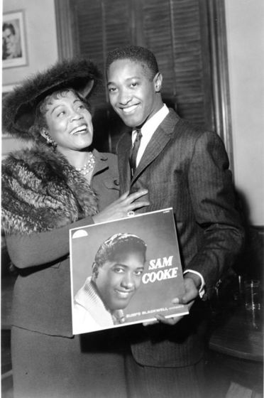 Sam Cooke And Gertrude Hall In 1958
